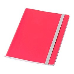 FÄRGGRANN note-book, pink Length: 20 cm Width: 15 cm Surface density: 80 g/m²