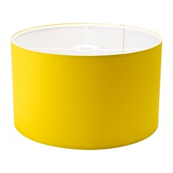 RISMON shade, white, yellow-green Diameter: 40 cm Height: 24 cm