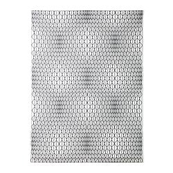 "NATTLJUS fabric, white/black Weigth.: 0.39 oz/sq ft Width: 59 "" Pattern repeat: 36 "" Weigth.: 118 g/m² Width: 150 cm Pattern repeat: 91 cm"