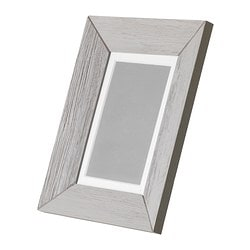 HAVERDAL frame, grey Picture without mount, width: 13 cm Picture without mount, height: 18 cm Picture with mount, width: 10 cm