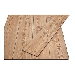 GOLV laminated flooring, pine effect Length: 138 cm Width: 19.0 cm Plank thickness: 8 mm