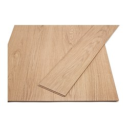 TUNDRA laminated flooring, oak effect Length: 138 cm Width: 19.0 cm Plank thickness: 7 mm