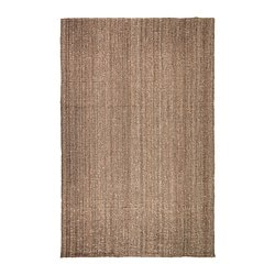 LOHALS rug, flatwoven, natural Length: 300 cm Width: 200 cm Area: 6.00 m²