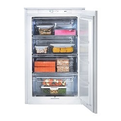 DJUPFRYSA integrated freezer A+, white Width: 54.0 cm Depth: 54.9 cm Height: 87.3 cm