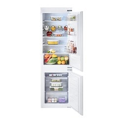 EFFEKTFULL integrated fridge/freezer A+, white Width: 54.0 cm Depth: 54.5 cm Height: 177.0 cm