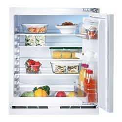 KALLNAT integrated fridge A++, white Width: 59.6 cm Depth: 54.5 cm Height: 81.5 cm
