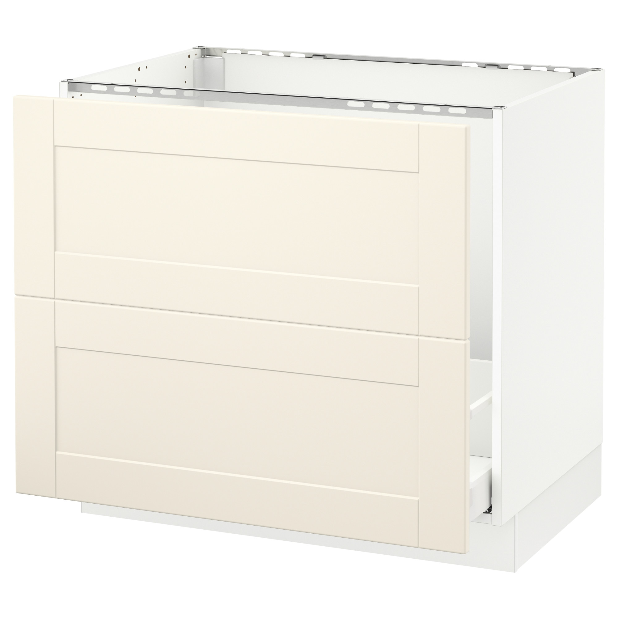 Sektion Base Cabinet F Sink Recycling White Maximera Ringhult White