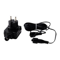 SKRUV transformer with cord, black Power: 6 W