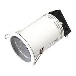 KILINGE recessed spotlight, in/outdoor white, adjustable white Cut-out diameter: 7.6 cm Max. diameter: 9 cm Height: 14 cm