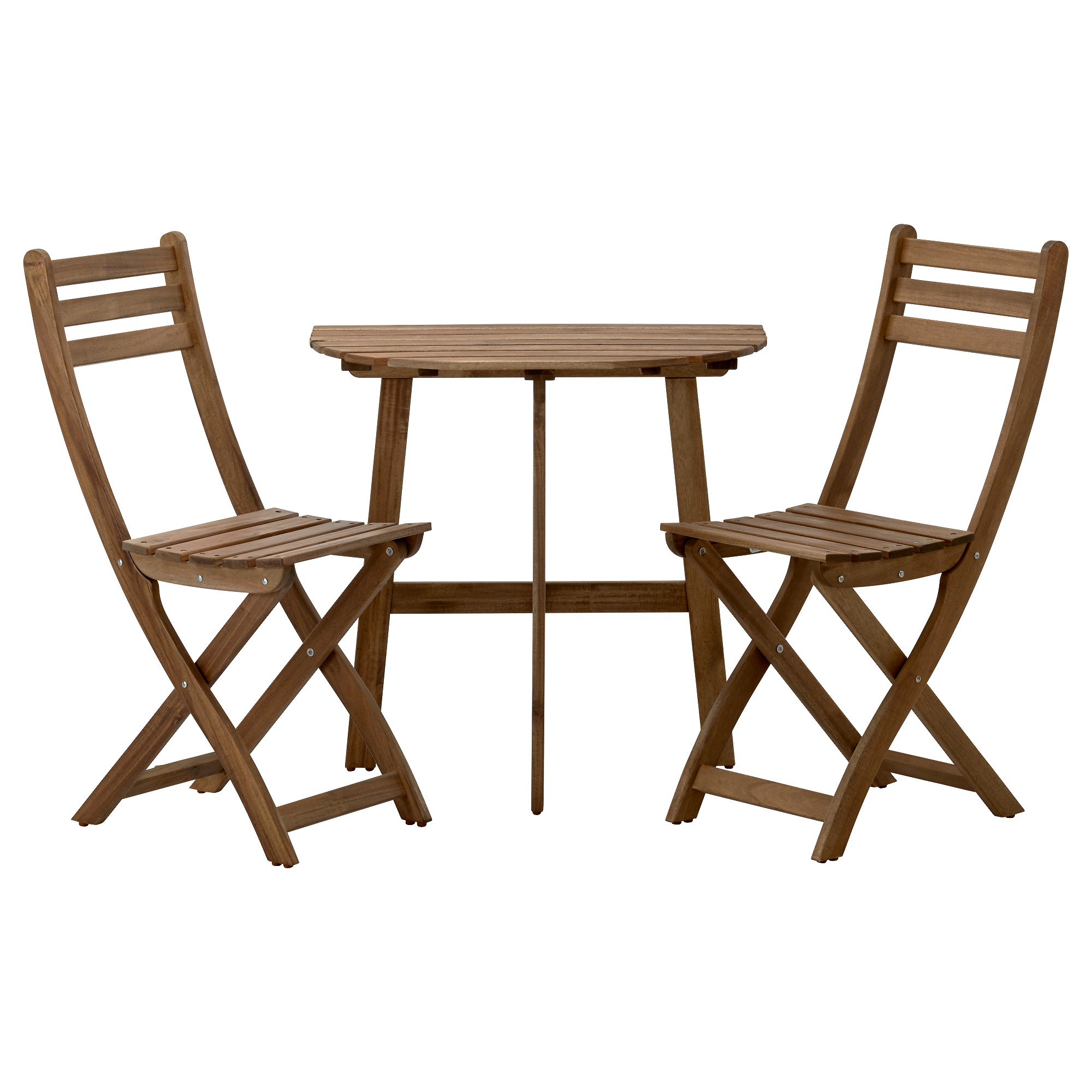 ASKHOLMEN Wall Table+2 Folding Chairs,outdoor   IKEA
