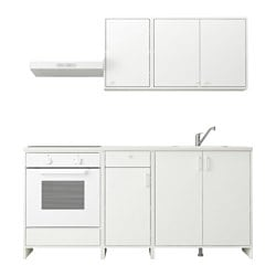 FYNDIG kitchen, white, white
