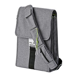UPPTÄCKA laptop backpack, grey
