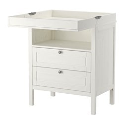 SUNDVIK Changing Table/chest