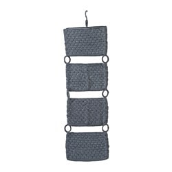 NORDRANA hanging storage, grey
