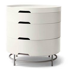 IKEA PS 2014 storage table, white Diameter: 44 cm Height: 45 cm