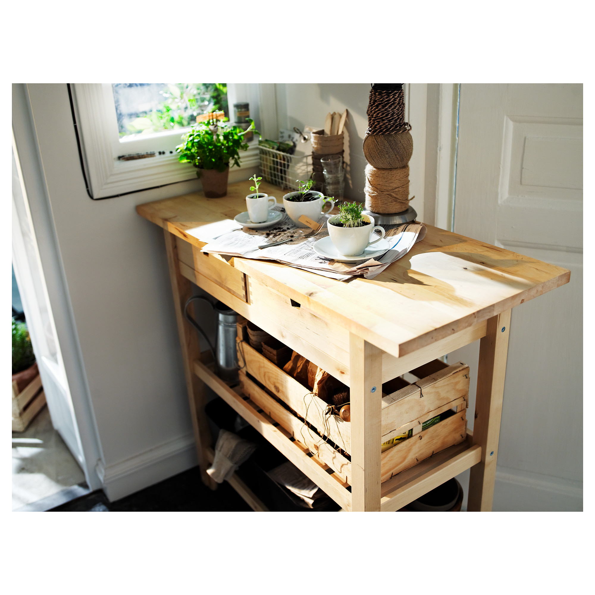 Forhoja Kitchen Cart Ikea
