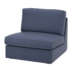KIVIK one-seat section cover, Ramna dark blue