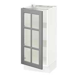 SEKTION Base Cabinet With Glass Door