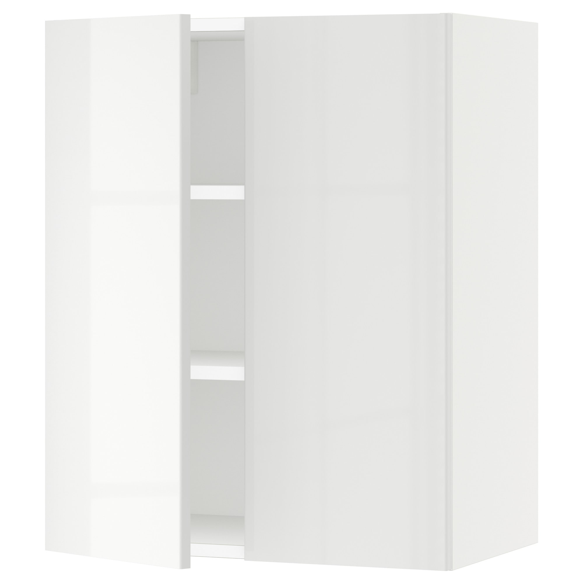 Sektion Wall Cabinet With 2 Doors White Bodbyn Gray 30x15x30 Ikea