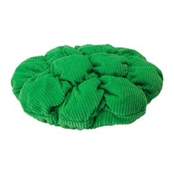 STICKAT stool cover, green Diameter: 28 cm Weight: 125 g Filling weight: 50 g
