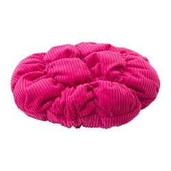 STICKAT stool cover, pink Diameter: 28 cm Weight: 125 g Filling weight: 50 g