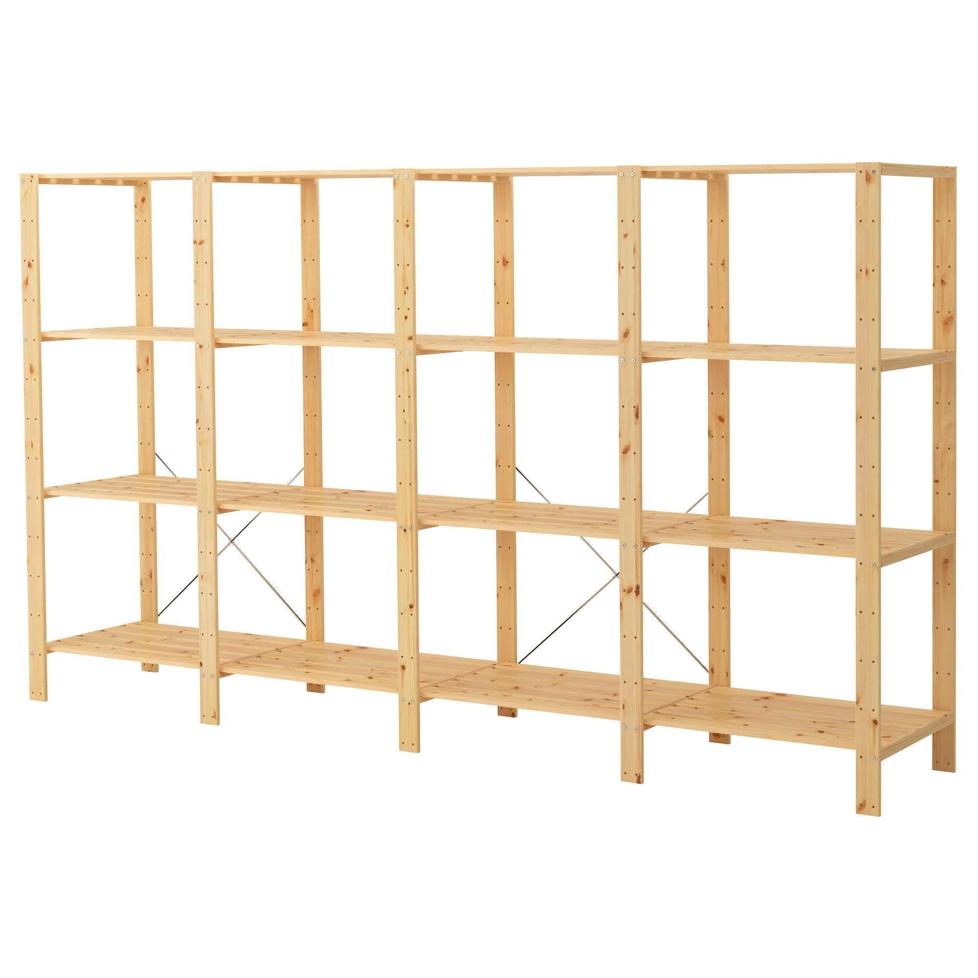 Ikea sten  HEJNE 4 section shelving unit - IKEA