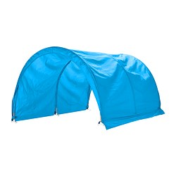 "KURA bed tent, turquoise Length: 63 "" Width: 38 ¼ "" Height: 26 ¾ "" Length: 160 cm Width: 97 cm Height: 68 cm"