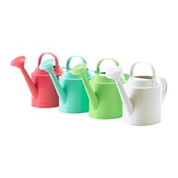 SOCKER watering can, assorted colours, assorted colours in/outdoor Height: 29 cm Volume: 5 l