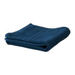 FRÄJEN bath towel, dark blue