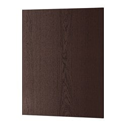 "EKESTAD cover panel, brown Width: 24 5/8 "" Height: 30 "" Thickness: 1/2 "" Width: 62.5 cm Height: 76.2 cm Thickness: 1.3 cm"