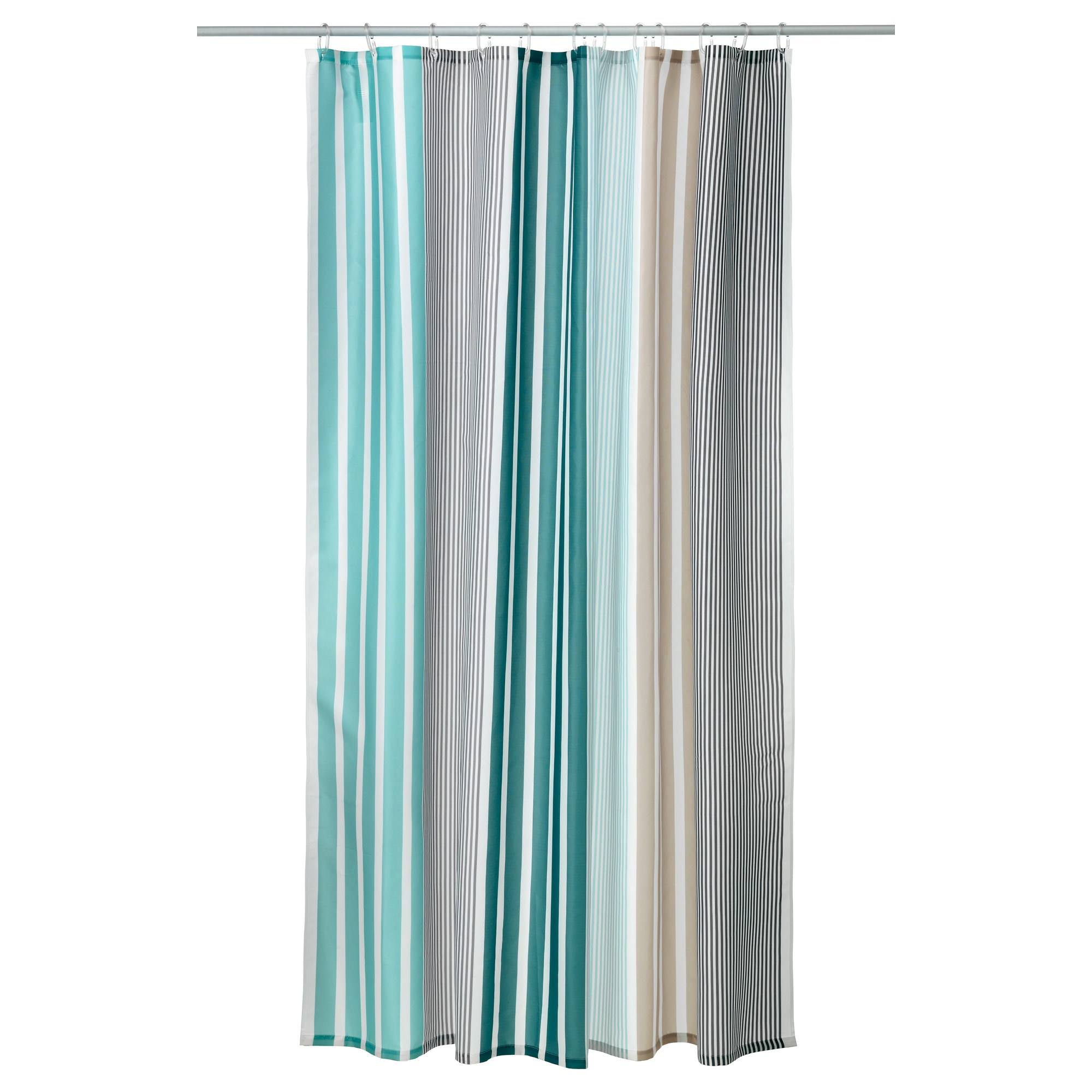 Bathroom plastic curtains - Bolm N Shower Curtain Multicolor Length 71 Width 71 Area 34 88