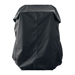 TOSTERÖ cover for furniture set, black Length: 100 cm Width: 70 cm Height: 90 cm