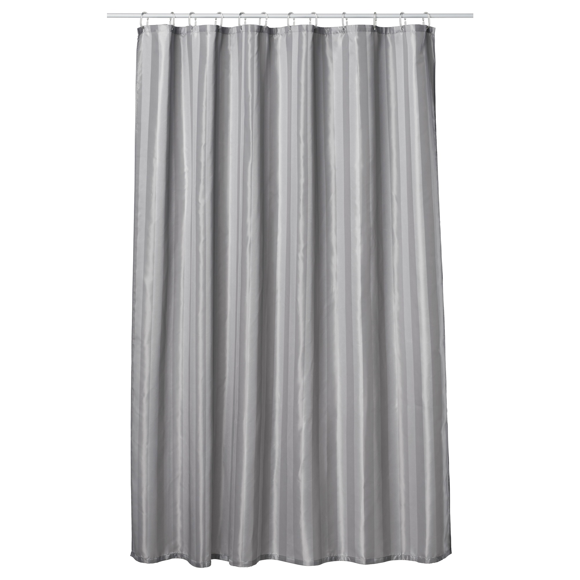 Silver Grey Shower Curtain Part - 22: SALTGRUND Shower Curtain - IKEA