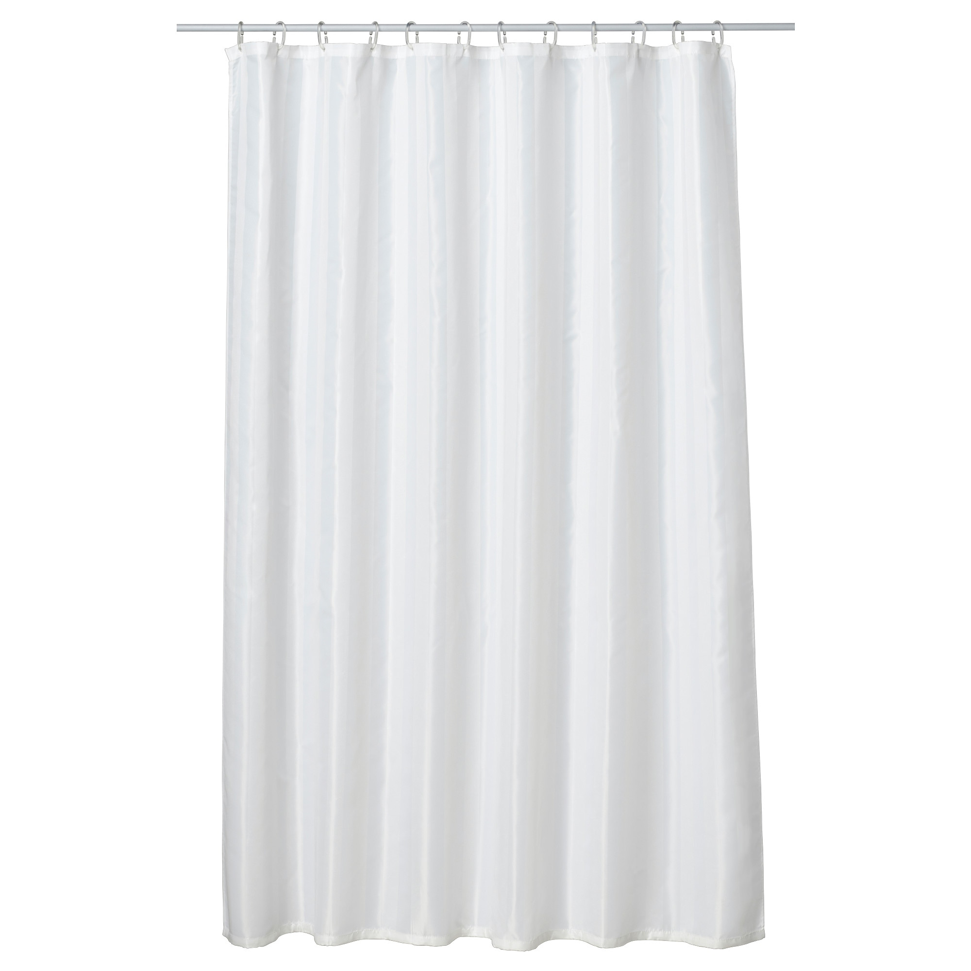 Mustache shower curtain - Saltgrund Shower Curtain White Length 71 Width 71 Area 34 88
