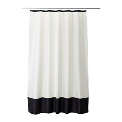 FÄRGLAV Shower curtain $16.99