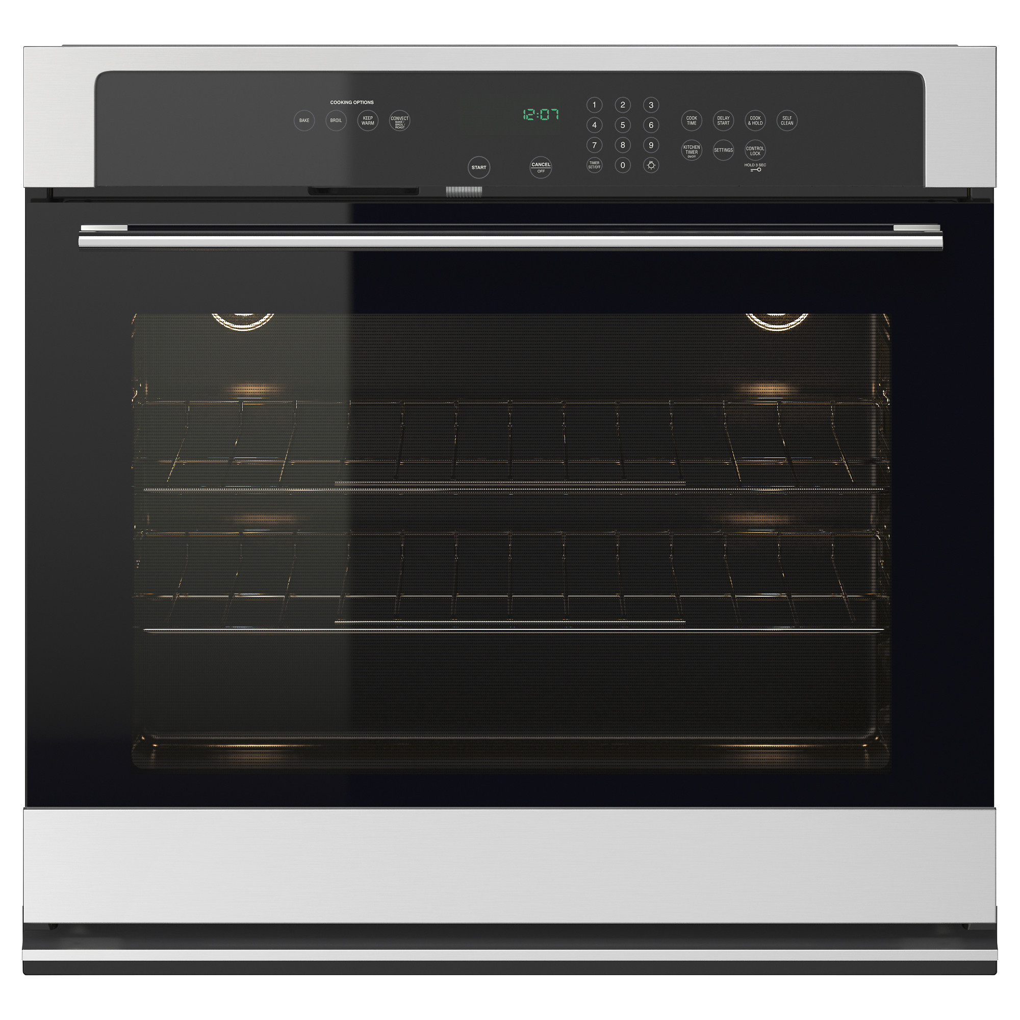Nutid Thermal Self Cleaning Oven Ikea