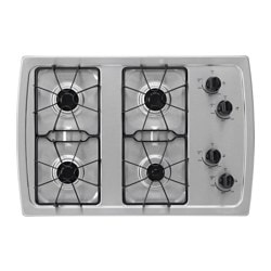 ELDIG, 4 burner gas cooktop, Stainless steel