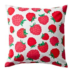 SOMMAR 2015 cushion cover, pink, raspberry pattern Length: 50 cm Width: 50 cm