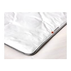 "GLANSVIDE duvet, warmer Thread count: 336 square inches Length: 86 "" Width: 86 "" Thread count: 336 square inches Length: 218 cm Width: 218 cm"