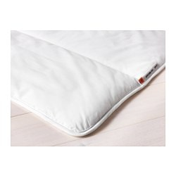 GRUSBLAD quilt, white extra warm Length: 200 cm Width: 200 cm Filling weight: 2000 g