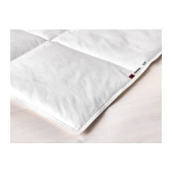 "HÖNSBÄR duvet, cooler Thread count: 252 square inches Length: 86 "" Width: 64 "" Thread count: 252 square inches Length: 218 cm Width: 162 cm"
