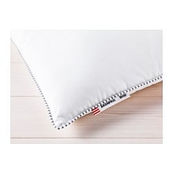 "ÄRENPRIS pillow, softer Thread count: 236 square inches Length: 20 "" Width: 30 "" Thread count: 236 square inches Length: 51 cm Width: 76 cm"