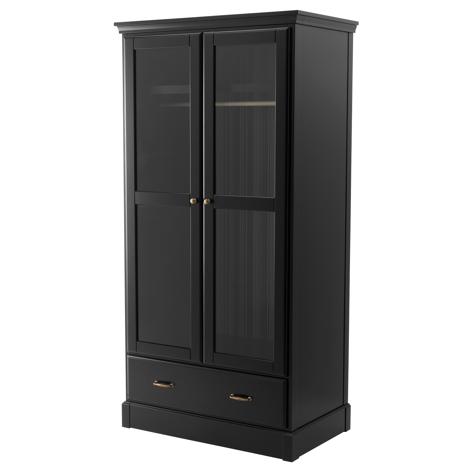 kleiderschrank schiebet ren schwarz. Black Bedroom Furniture Sets. Home Design Ideas