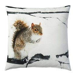 ELDBLOMMA cushion, tree, animal Length: 50 cm Width: 50 cm Filling weight: 300 g