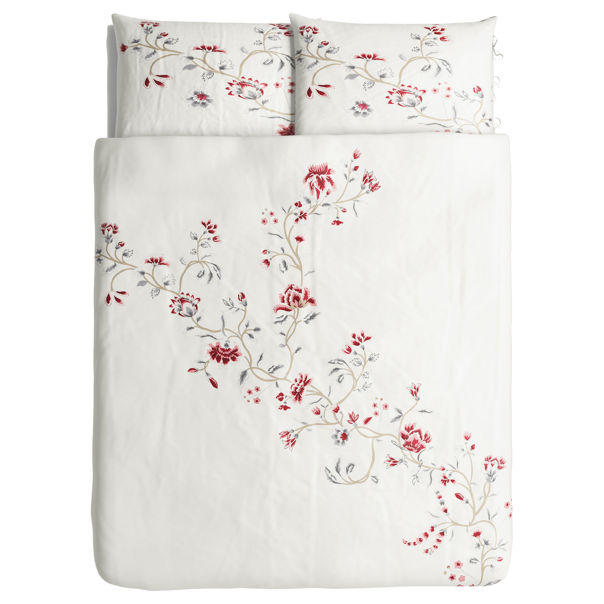 rdbinka duvet cover and pillowcases fullqueen doublequeen ikea - Floral Duvet Covers