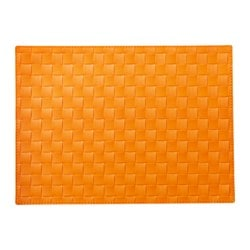 ORDENTLIG set de table, orange Longueur: 45 cm Largeur: 32 cm