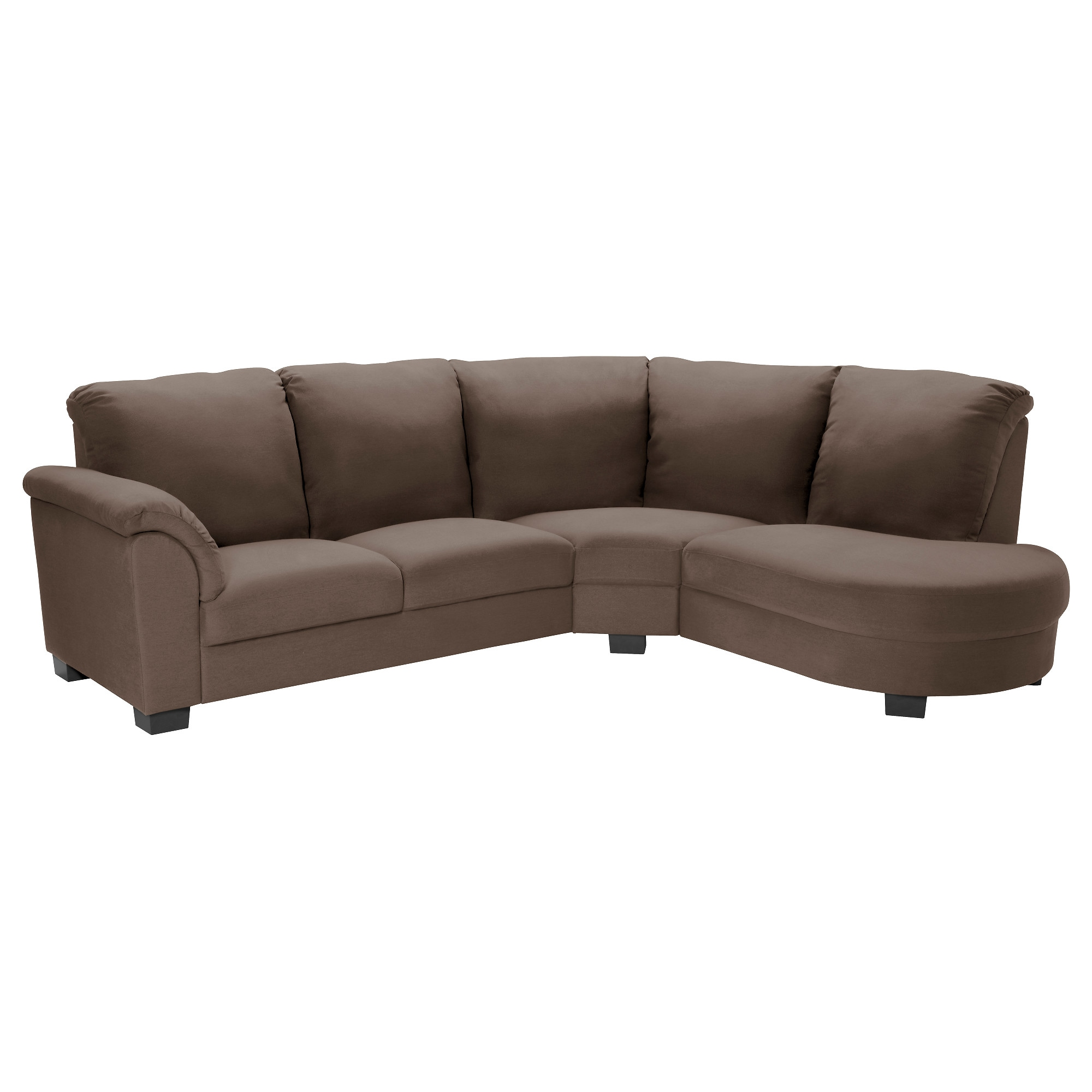 TIDAFORS Sectional 3 seat Dansbo medium brown IKEA
