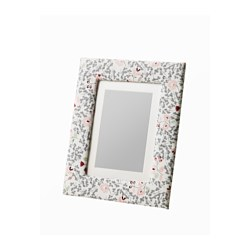 SALTÄNG frame, patterned Picture without mount, width: 13 cm Picture without mount, height: 18 cm Picture with mount, width: 10 cm
