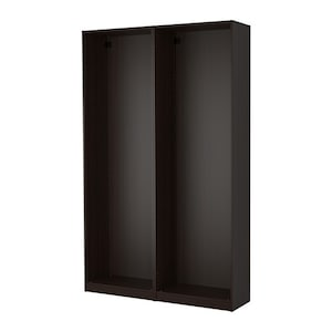 pax 2x korpus kleiderschrank eicheneff wlas ikea. Black Bedroom Furniture Sets. Home Design Ideas