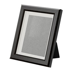 GUNNABO frame, brown Picture without mount, width: 15 cm Picture without mount, height: 20 cm Picture with mount, width: 10 cm